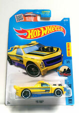 2015 Hot Wheels #68/250 HW Ride-ONS FIG RIG 3/5 Pickup Car Yellow BEST FOR TRACK