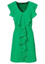 Damenkleider mit V-Ausschnitt aus Polyester in Größe 34 für Damen