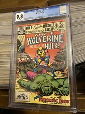 WHAT IF? #31 DEATH of HULK Magneto WOLVERINE 1982 Fantastic Four MCU TV CGC 9.8