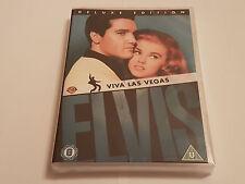 Elvis: Viva Las Vegas (Deluxe Edition) [DVD] [1964] RARE UK RELEASE - BRAND NEW