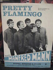 Manfred Mann Pretty Flamingo 2 Lados music/chords/lyricsfree postales del Reino Unido