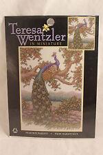 Teresa Wentzler In Miniature Peacock Majesty Counted Cross Stitch Kit 113975