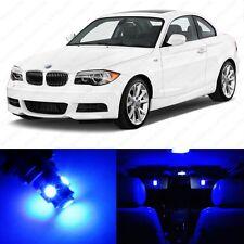 6 x Blue LED Interior Light Package For 2008- 2013 BMW 128i 135i E82 E85 E86 1M