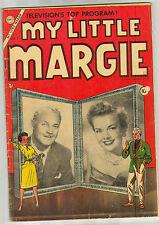 1954 MY LITTLE MARGIE 1  2.0 2.5 GOOD GOOD+ CDC HOLE PUNCH ON COVER