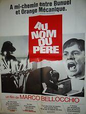 AU NOM DU PERE ! marco bellochio  affiche cinema 1972