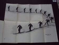 THE NEW SKIER: Ski-ing / Movement & Techniques / Traversing / Plates / 1960 1st.