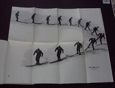 THE NEW SKIER: Ski-ing / Movement & Techniques / Traversing / Plates / 1960 1st.