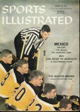 1957 Boston Bruins No Label Sports Illustrated