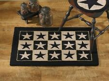 """Black Star Hand-Hooked Rug by Park Designs - 24"""" x 36"""""""