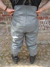 Reiterhose Reithose Lederhose Breeches dickes Rindsleder Gr. 50 L neuwertig