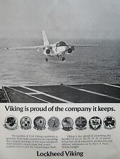 6/1976 PUB LOCKHEED S-3A VIKING US NAVY SQUADRONS ASW VS 21 22 28 29 31 32 33 AD