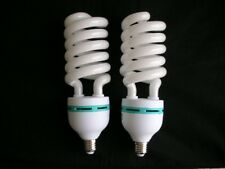Outstanding High Quality 2 x 120V 85W 5500K E27 Daylight Studio Light Bulbs CFL
