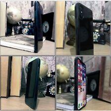 Apple iPhone 10 GEL TPU Flexible compuesto de desplazamiento de impacto Estuche Negro de Humo