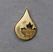 2010 VANCOUVER CANADIAN BLOOD SERVICES OLYMPIC WINTER GAMES PIN