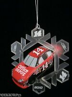 2010 TONY STEWART #14 NASCAR RACE CAR ORNAMENT~NIB