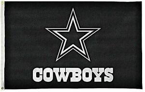 Dallas Cowboys Flag Banner 3x5 Carbon Fiber Design Premium Outdoor Football