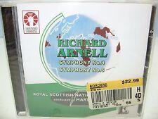 Richard Arnell SYMPHONIES Nos. 4 & 5, Royal Scottish NO/Yates, Dutton NEW