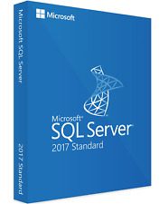 Microsoft SQL Server 2017 Standard 4 Core Activation Key | Digital Delivery