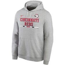 Brand New 2020 Cincinnati Reds Nike Color Bar Club Pullover Hoodie Sweatshirt