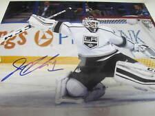 Jhonas Enroth Los Angeles Kings Signed 11x14 Photo COA