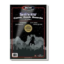 500 BCW SILVER COMIC BAGS AND BOARDS