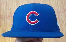 Chicago Cubs 2016 World Series New Era 59Fifty Blue MLB Baseball Hat 6-7/8