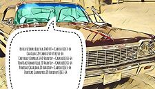 Chevrolet Impala Buick Pontiac Olds 2/4D HT + Cabrio BJ 1963 - 1964 Frontscheibe