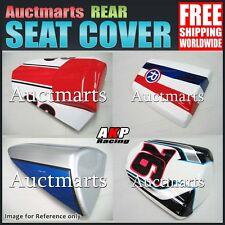 Auctmarts Rear Seat Cowl Cover for Honda Suzuki Kawasaki Yamaha Bundle GX