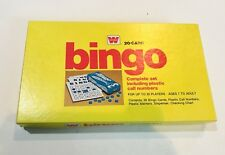 Whitman Bingo Game 1974 Complete 20 Card Set Family Ages 7+ Up To 20 Players