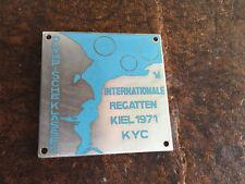 Internationale Regatten Kiel 1971 Olympische Klassen Hersteller: M. Hansen