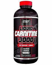 NUTREX LIQUID L-CARNITINE 3000 BERRY 16OZ WEIGHT LOSS SUPPORT + FREE SHIPPING