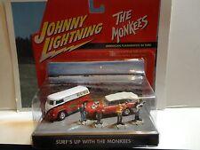 Johnny Lightning The Monkees Surfs Up Diorama Set w/Volkswagen Bus