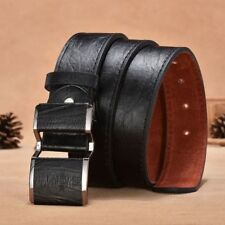 Accessories Leather Smooth Buckle Men's Belt Men's Accessories Belt Men Belt
