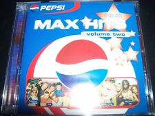 Pepsi Max Hits – Volume Two Various 2 CD (Nsync Steps Alexia Garbage Billie) – L