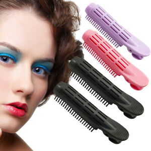 Women Girl Hair Clamps Fluffy Curler Clips Hair Roots Perm Rods Styling Rollers
