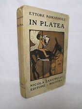 Romagnoli - In platea .Critiche drammatiche - Zanichelli 1924 Teatro CAMBELLOTTI