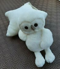 Jellycat .. Cream .. Owl .. Lullaby Cot Toy ..  Vgc