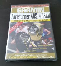 Garmin Forerunner 405, 405CX (DVD) how to use maximize your gps unit NEW