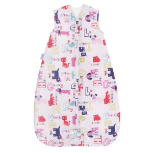Grobag Baby Sleeping Bag 6 - 18 months Alphapink - Travel 1.0 tog  1