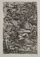 Fritz Cremer - Walpurgisnacht - Lithografie - 1956