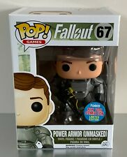 Funko Pops Fallout 67 Power Armor (Unmasked) * NEW * NYCC LIMITED * New York *
