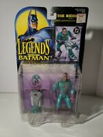 Legends of Batman The Riddler Action Figure With Firing Launcher & Card New NIP