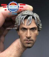 Custom 1/6 scale QuickSilver Aaron Johnson Head Sculpt for 12'' Male Figure