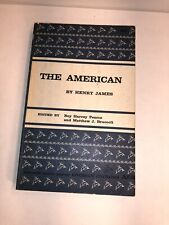 The American - Riverside Editions -  by James, Henry 1962