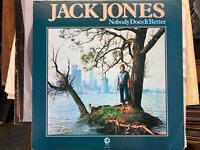 Jack Jones – Nobody Does It Better - MGM Records – MG-1-5023 - 1979 - Vinyl LP