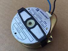 Crouzet 82344 Gear Motor 115 volts AC 1/2 rpm- 4mm shaft 1R2M