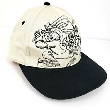 Fresh Caps NHL Hockey Looney Tunes Vintage Tan Black Snapback Mens Hat Cap