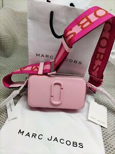 HOT Brand MARC JACOBS Snapshot Small Camera Bag PINK ROSE bag sales