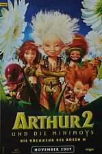 ARTHUR UND DIE MINIMOYS 2 - A3 Poster (ca. 42 x 28 cm) - Film Plakat Clippings