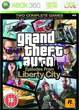 Grand THEFT AUTO EPISODES FROM LIBERTY CITY XBOX 360